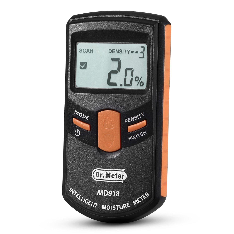 Dr. Meter Pinless Wood Moisture Meter