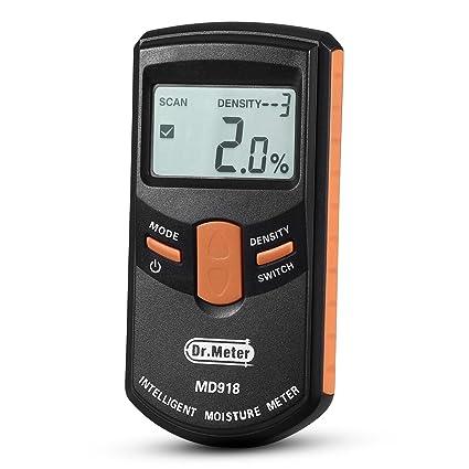 dr. meter pinless moisture meter