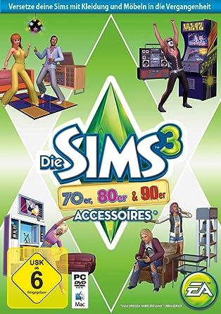 Die Sims 3 70er 80er 90er Accessoires Add On Pc Amazonde