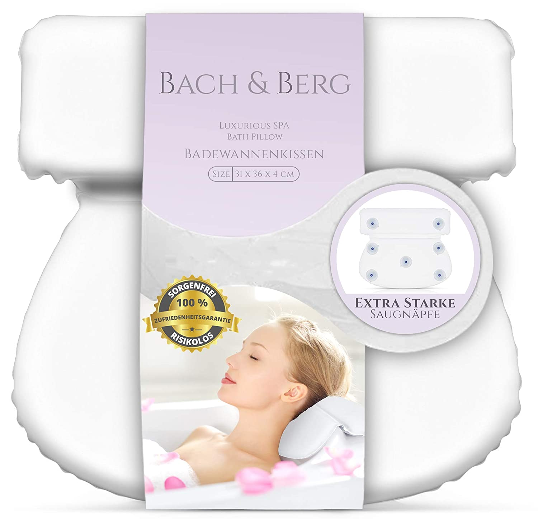 Cuscino per vasca da bagno | Bach & Berg | Cuscino testa e cervicale