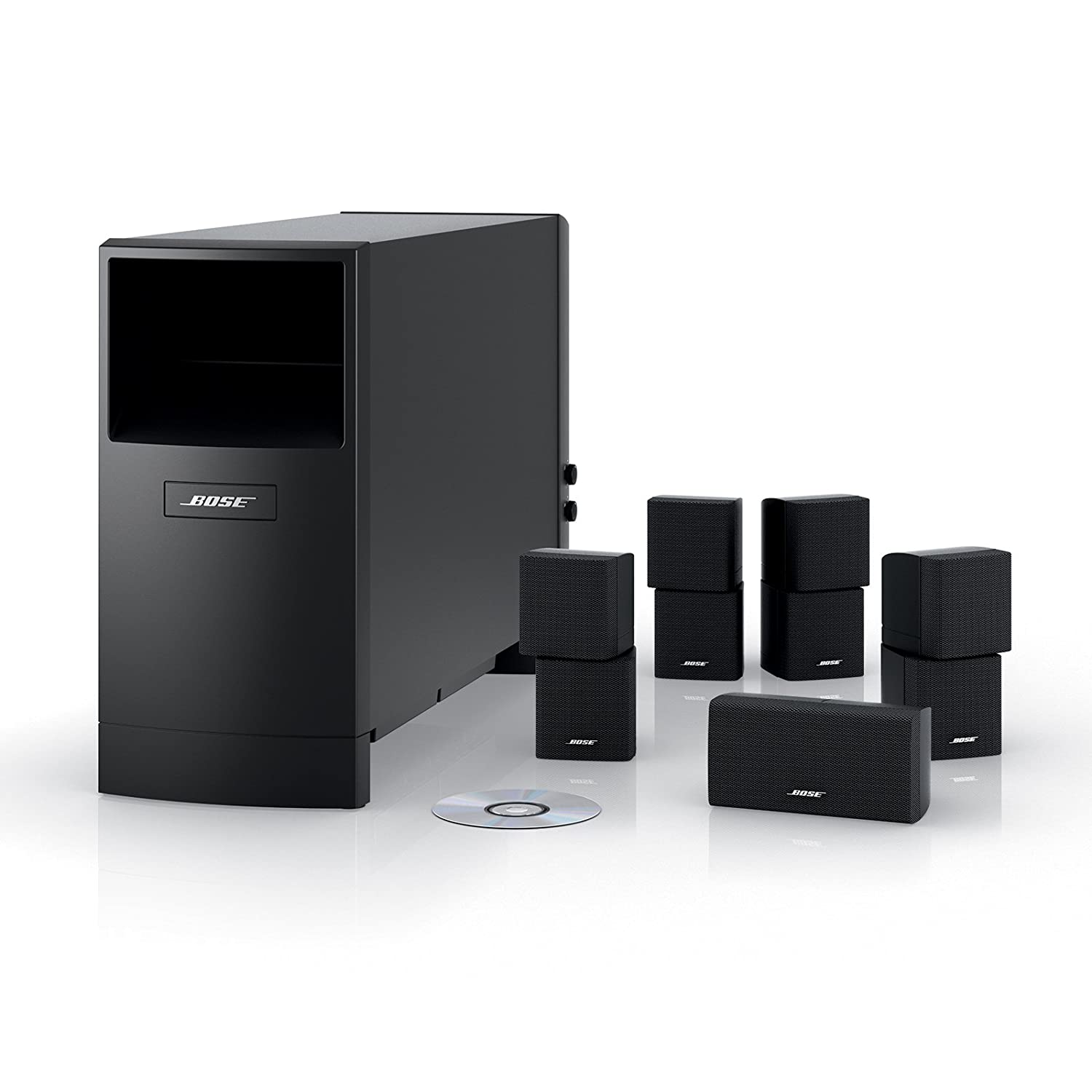 Bose Acoustimass 10 Series Iv Home Entertainment Speaker 301 Wiring Diagram System Black Audio Theater