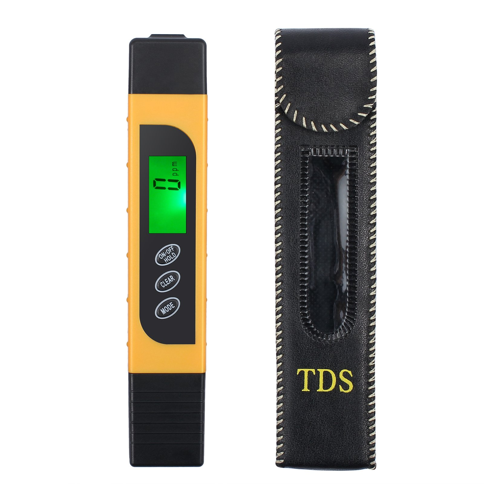 Proster Digital Water Quality Tester Digital TDS EC Meter 0-9990 Range Multifunctional Water Purity Temperature Meter for Drinking Water Swimming Pools Spas Aquarium Hydroponics Purifiers and Filters