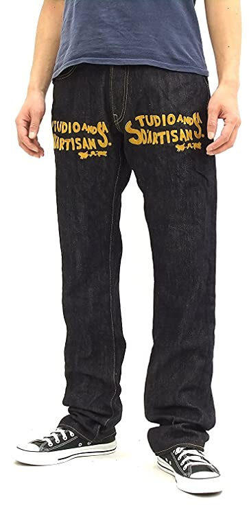 Studio D'artisan Embroidered Jeans D1715 Men's denim pants 31 inch