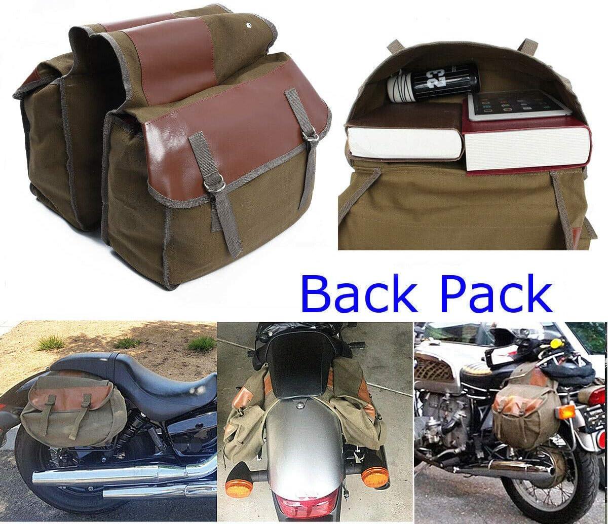 RENNICOCO Sacoche de Moto Robuste Sacoche de Moto Grande capacit/é Sacoche de Moto Parfaite pour Le Voyage