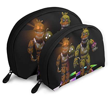 Amazon.com: Nightmare Chica Portable Shell Makeup Storage ...