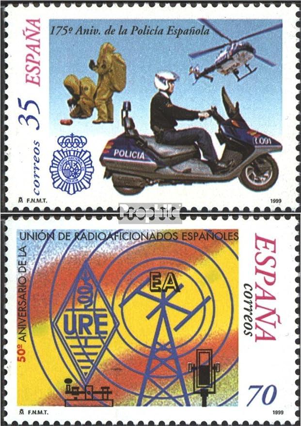 Prophila Collection España Michel.-No..: 3458,3460 (Completa.edición.) 1999 Policía, Funker (Sellos para los coleccionistas) Fuego / Policía: Amazon.es: Juguetes y juegos