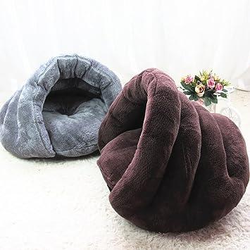 Omgo Cama para gatos o perros pequeños, para invierno, accesorio extraíble: Amazon.es: Productos para mascotas