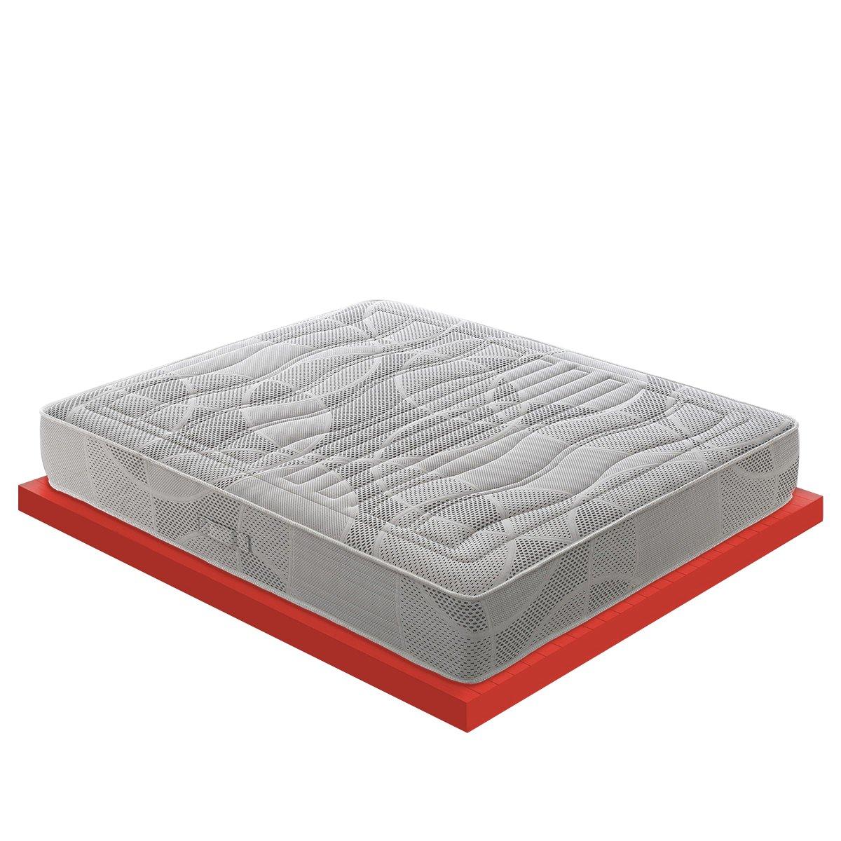 Matratze in Memory 7cm 11Zonen geteilt Mod. POLIFOAM 7cm von Memory Foam zertifiziert Medizinprodukt Klasse I mit Steuerabzug 120x190cm