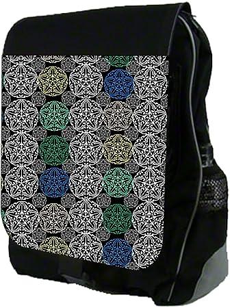 Floral Pattern 01 TM School Backpack