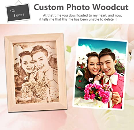 Engraving Portrait Handmade Wood Cut Portrait Customized Wooden Portrait Custom Photo Engraving Custom Photo,Free to Teach You Custom