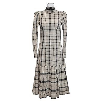 7d0ec595bdb Original 2018 Women s Dress Autumn New European and American Long-Sleeved Dress  Female at Amazon Women s Clothing store