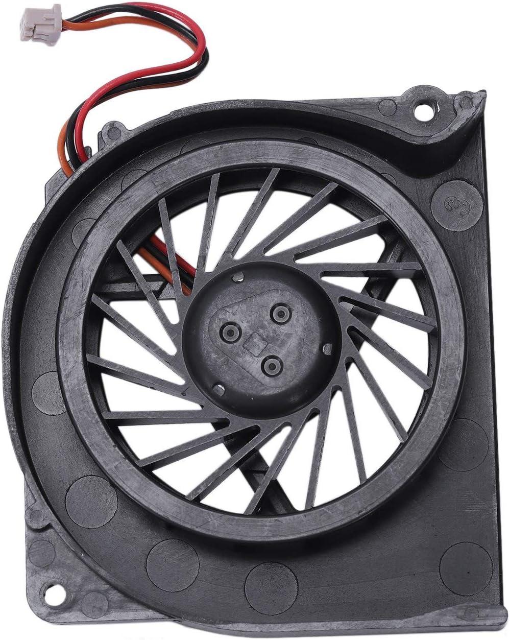 Noblik Laptop CPU Cooling Fan for Fujitsu Lifebook S6311 S2210 S6510 S6410 E8410 S7110 T4215 T5500 T2050 Mcf-S6055Am05B Notebook Cooler Radiator