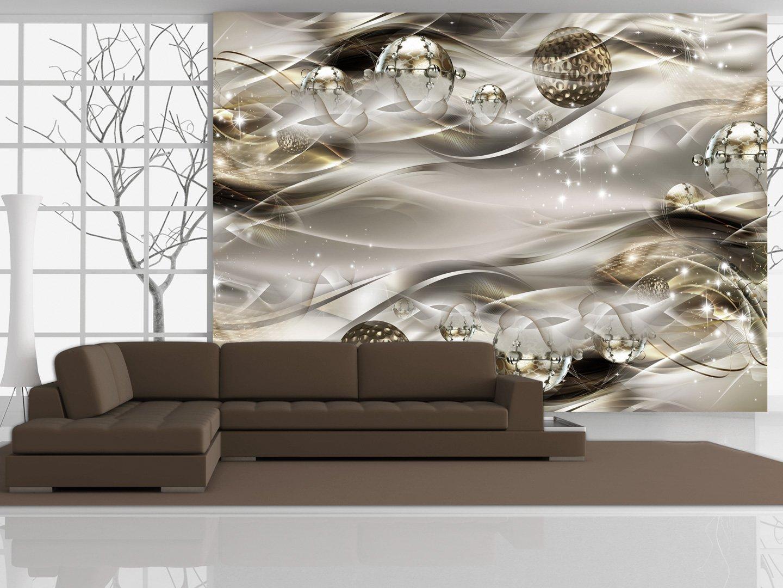 Murando - - - Fototapete 400x280 cm - Vlies Tapete - Moderne Wanddeko - Design Tapete - Wandtapete - Wand Dekoration - Abstrakt Gold a-A-0084-a-d B01GRQKK1Y Wandtattoos & Wandbilder c87976