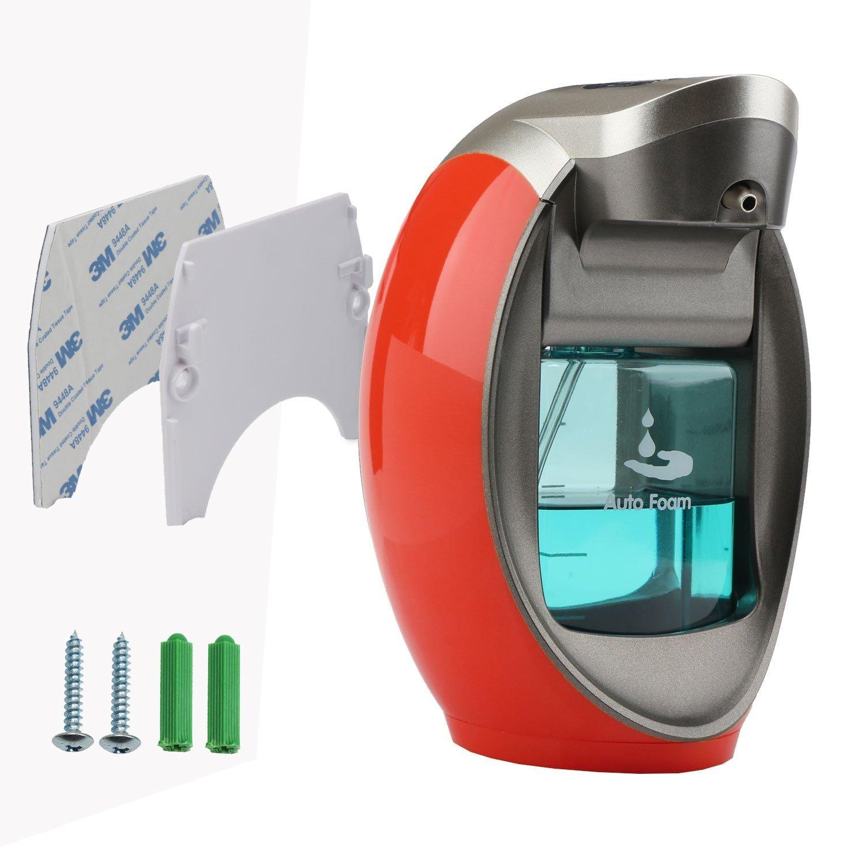 segarty dispensador automático de espuma de jabón manos libres Touchless Hand Sanitizer dispensador de jabón dispensadores con pared diseño - 2 modos ...