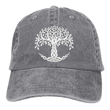 Magictop Celtic Tree of Life Unisex Personalizar Gorra de béisbol ...