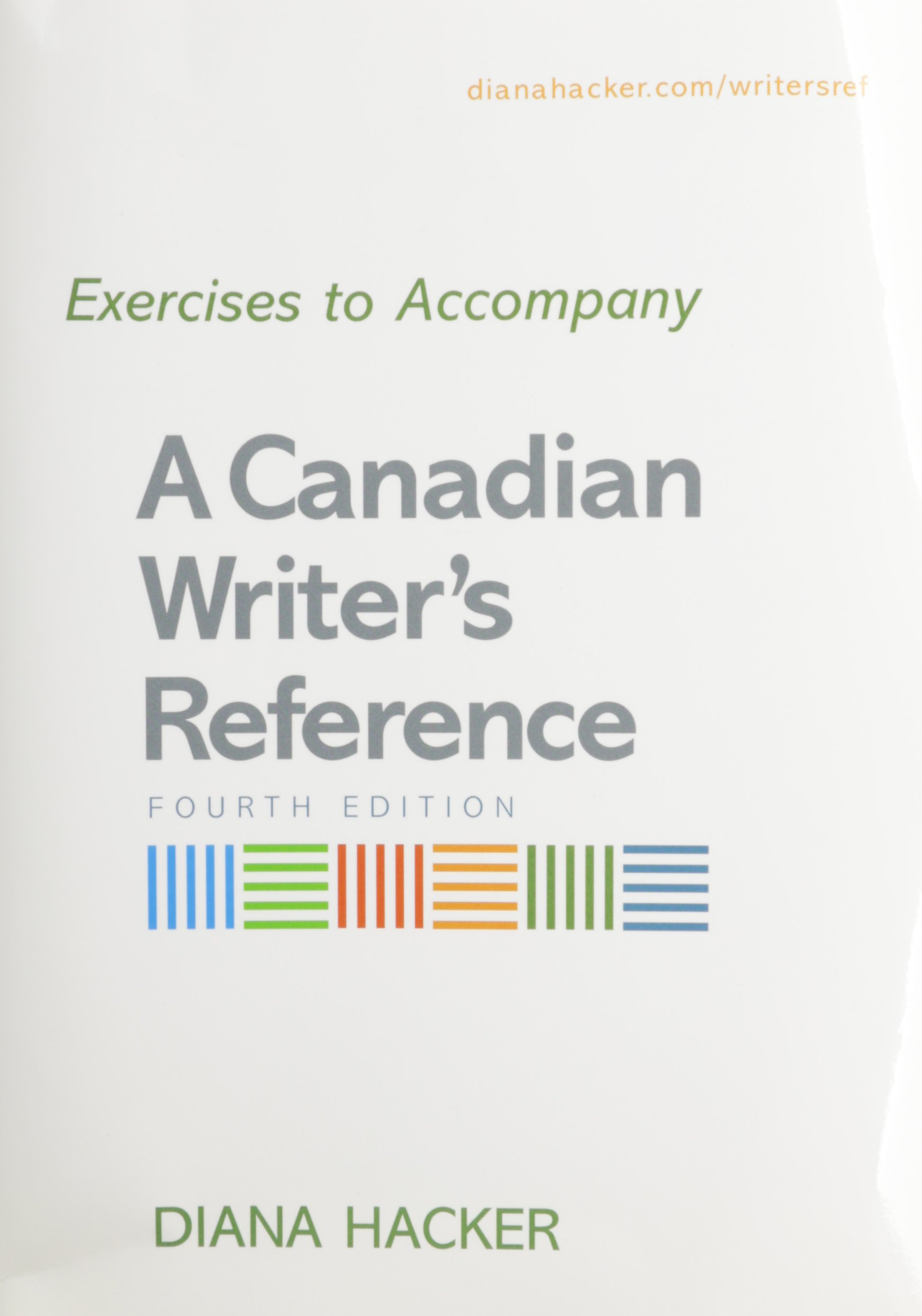 Canadian Writer's Reference 4th Ed + Exercises Plastic Comb – Dec 26 2007