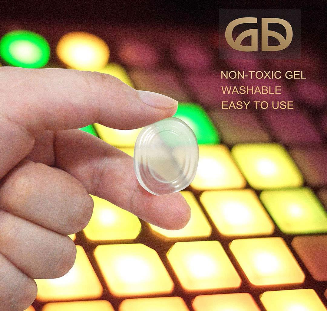 WINGKIND Drum Damper Gel Pads Tone Control Pads – 16 pack