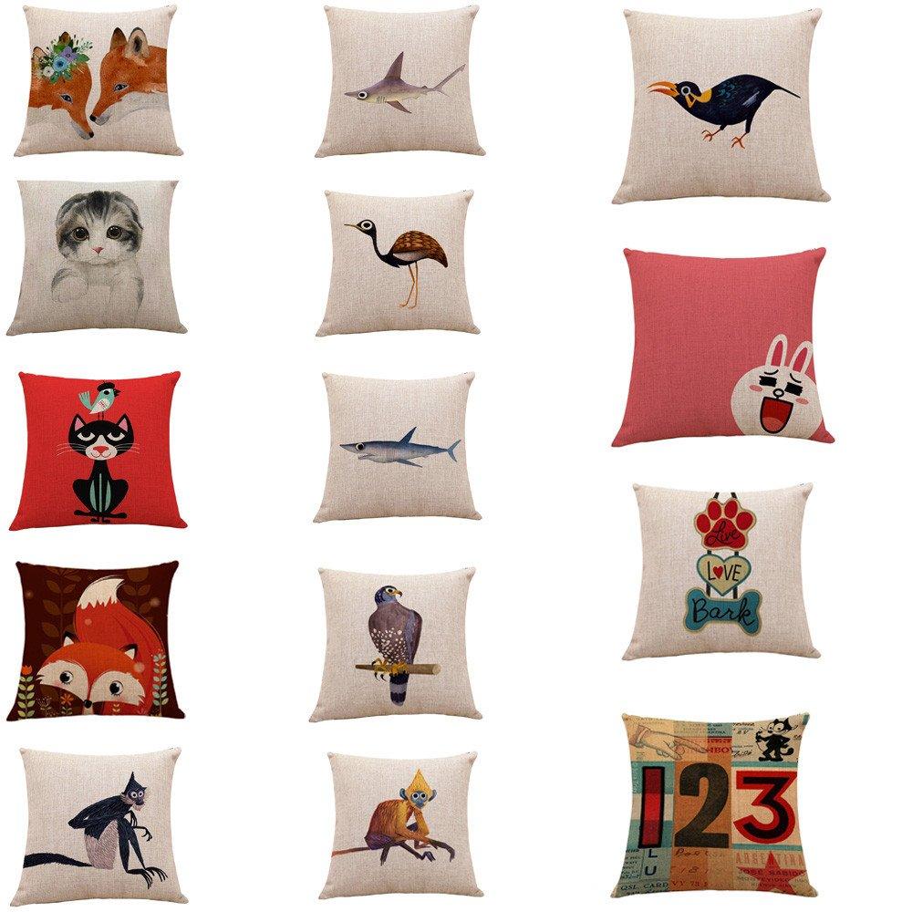 99Lamour - Funda de almohada protectora, diseño de perro ...