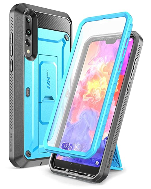 brand new 5160f 223fb SUPCASE Huawei P20 Pro Case, Full-Body Rugged Holster Cover with Built-In  Screen Protector for Huawei P20 Pro (2018 Release) Not for Huawei P20, ...