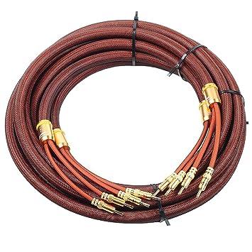 Choseal LB-5109 8,2 pies OCC Banana Plug alta calidad HI-FI