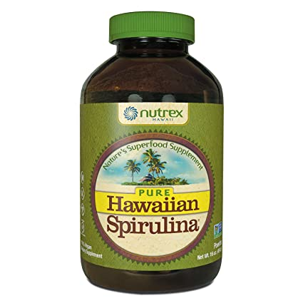 Nutrex Hawaii Hawaiian Spirulina Pacifica Powder, 16-Ounce Bottle: Amazon.es: Salud y cuidado personal