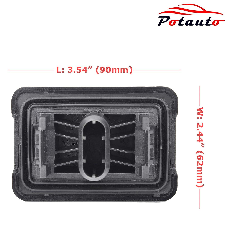 Potauto 51717237195 Car Jack Lift Pad Puck Support for BMW 1 3 5 6 7 X1 M3 M5 M6 Series MINI Cooper Qty 4, 51717237195