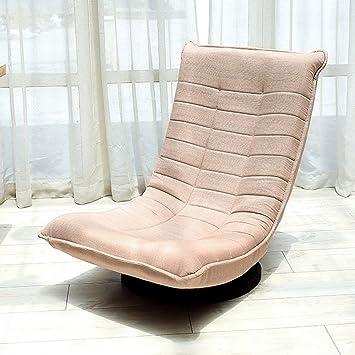 Qing MEI Home Chaise Pivotante Paresseux Fauteuil À Bascule Canapé  Inclinable Balcon Balcon Unique Siesta Chaise e20dde2c97c5