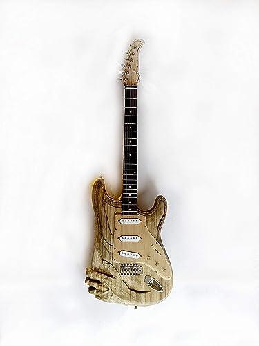 Guitarra Eléctrica Tallada: Amazon.es: Handmade