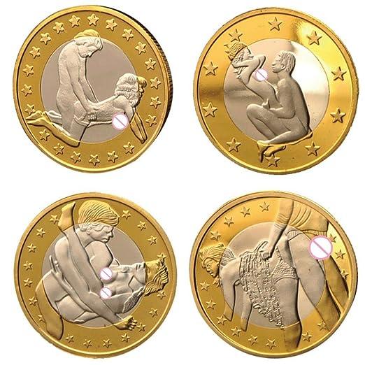 Vaole Tm S 4menge Sonderangebot Sale Sex Euro Münzen Vergoldet