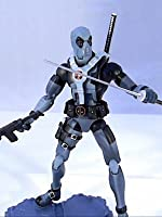 "Marvel Legends DEADPOOL (X-force costume) Review 6"" inch (Hasbro) action figure toy"