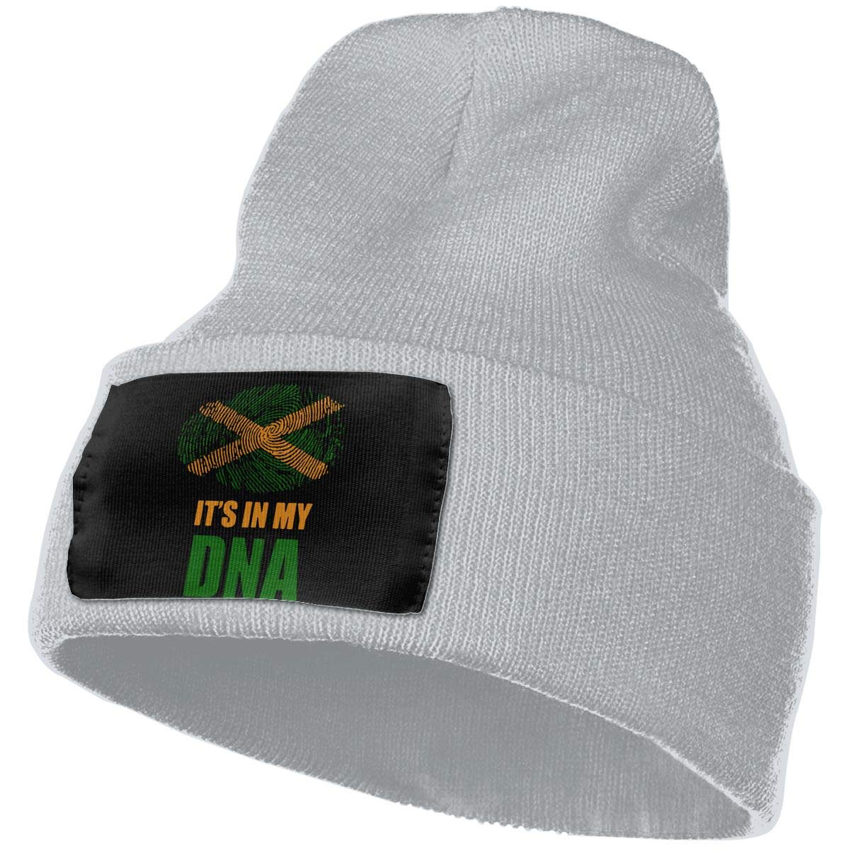 Unisex 100/% Acrylic Knit Hat Cap Jamaican Its in My DNA Cute Beanie Hat