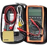 Wiysond Vici VC99 6999 5/6 Voltmètre Numérique Ampèremètre Multimètre avec numérique écran LCD Volt/ Ohm/ Amp Testeur Mètre Auto Gamme - AC Courant DC auto gamme Ohm multimètre Voltage numérique Ampèremètre voltmètre volt testeur multimètre Multi-testeur