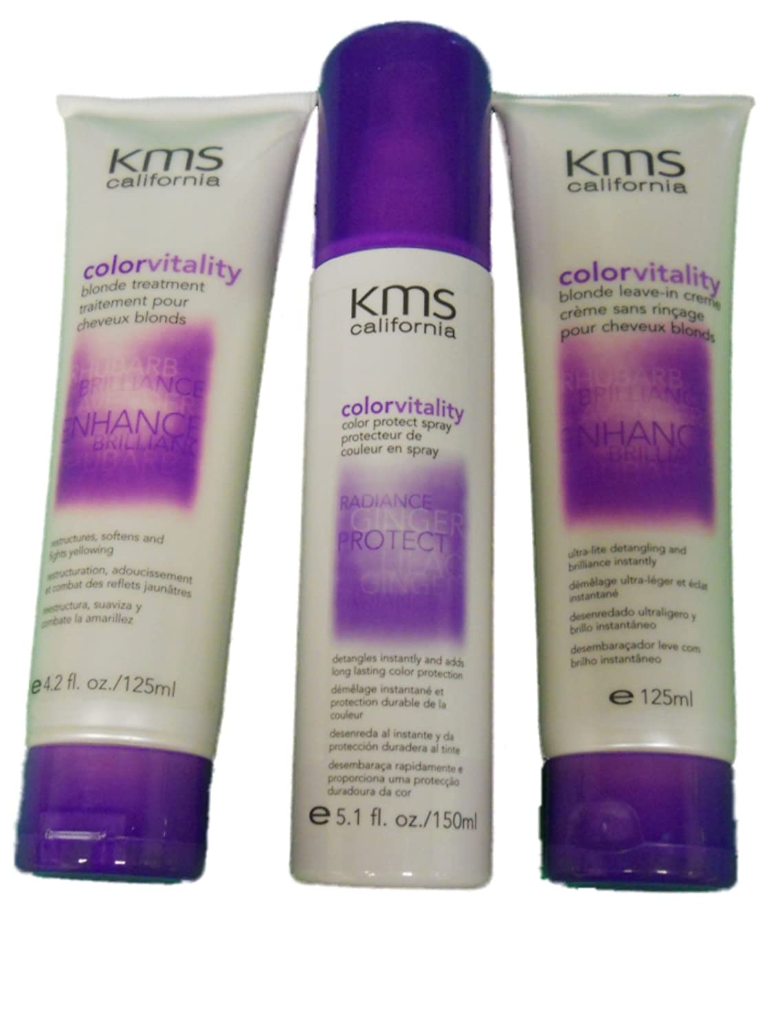 Amazon Kms California Color Vitality Blonde Hair Care Set Beauty