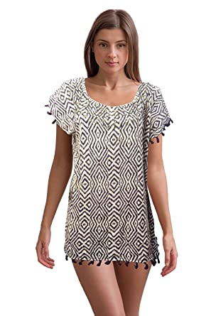 baaf9c1f0f8b0 Victoria's Secret Cover Up Dress Fringe Caftan Tassel with Studs ...