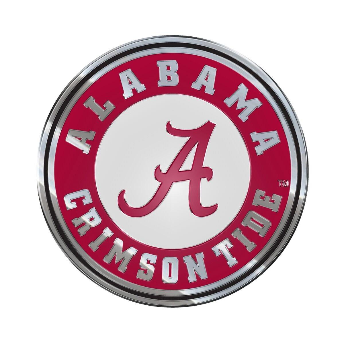 ProMark Alabama Crimson Tide Color 3D Auto Emblem