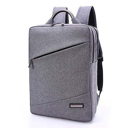 e63e39cbc9a5 Amazon.com  Business backpack man square simple backpack laptop ...