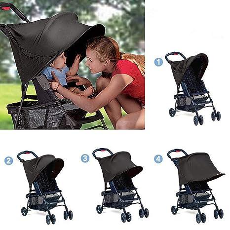 Mealeaf Parasol para Cochecito de bebé con protección UV ...