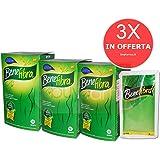 3X BENEFIBRA - Integratore di Fibra Liquida Vegetale - 36 BUSTE PRONTE DA BERE