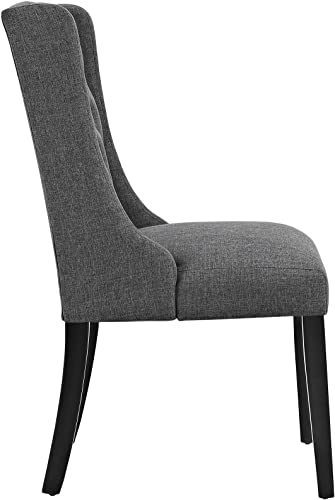 Modway Baronet Modern Tufted Upholstered Fabric Parsons Kitchen and Dining Room Chair