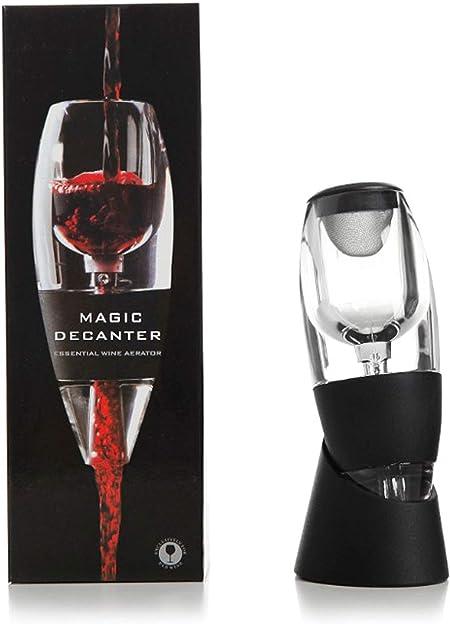 Magic Set de Decantador aireador de vino tinto, Red Wine Aerator