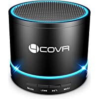 Forcovr Mini LED Best Multi-Function Portable Outdoor Stereo Bluetooth Speakers