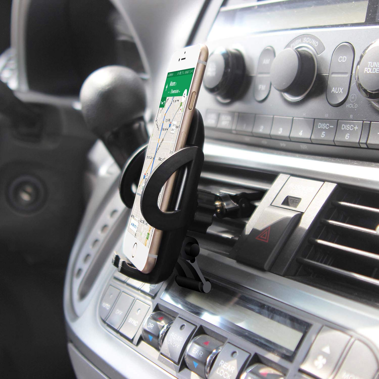 Cellet Car Phone Mount,Air Vent Phone Holder Car Adjustable Car Phone HolderCompatible for LG V40 ThinQ,G7 ThinQ,Exalt LTE,V30,V30+,Stylo 4//3//2//1,K30,Q7+,Stylo 4 Plus,G6,X Charge,X Power,X Venture