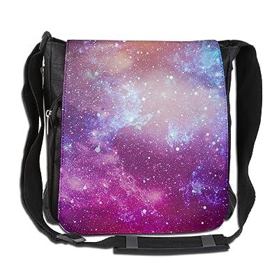 Galaxy Universe Background Fashion Print Diagonal Single Shoulder Bag