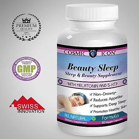 cosmic icon La pastilla para dormir de cosmic icon con Melatonina + 5-HTP 175cc