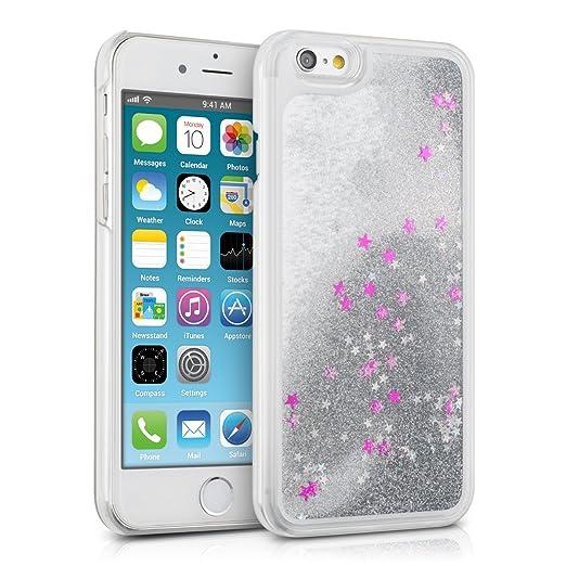 6 opinioni per kwmobile Cover custodia rigida per Apple iPhone 6 / 6S con liquido- Custodia