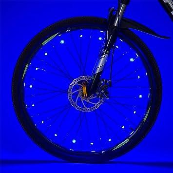 Luces LED para radios de Bicicleta, luz para Rueda de Bicicleta ...