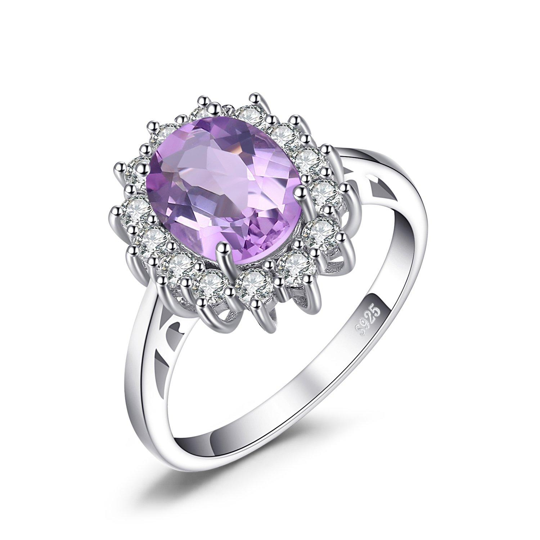 JewelryPalace Magnifique Elégant Diana Princesse Kate Middleton Bague de  Fiançailles Femme en Argent Sterling 925 5319466f3420