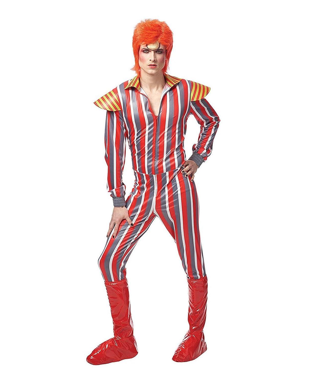 Amazon David Bowie Glam Rocker Adult Costume Standard Toys Games