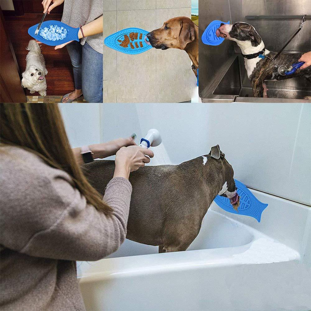 Galaxer Almohadilla para lamer Perros, Mascotas Juguete de ...