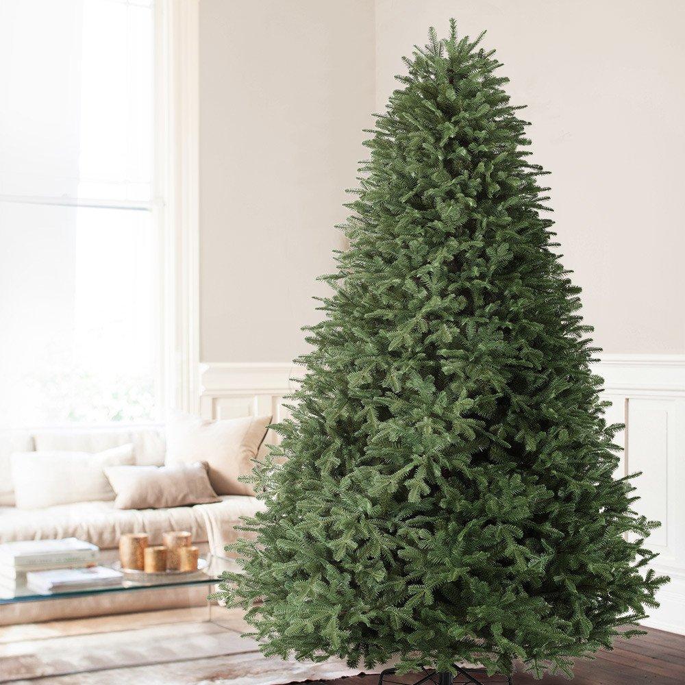 Balsam Hill BH Balsam Fir Premium Artificial Christmas Tree, 6.5 Feet, Unlit